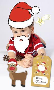 Christmas photo stickers kids apk screenshot