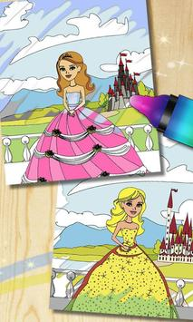 Magic Princess Coloring Book Apk Screenshot