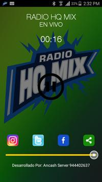 Radio HQ Mix Peru apk screenshot
