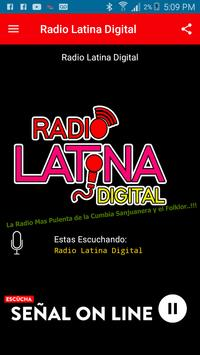 Radio Latina Digital screenshot 1
