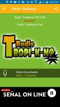 Radio Tropikana 102.5 Fm apk screenshot