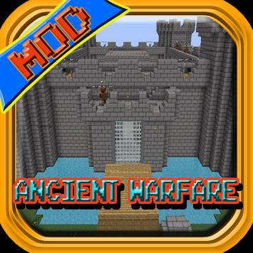 Ancient Warfare Mod MCPE Guide poster