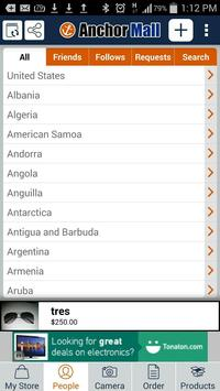 AnchorMall apk screenshot