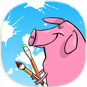 pippa pig paint book :@) icon