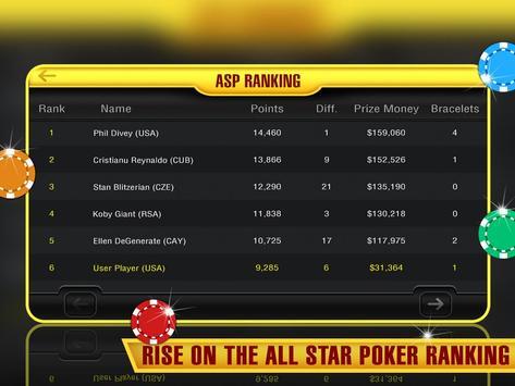 All Star Poker apk screenshot