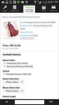 Ananya Fashion House apk screenshot