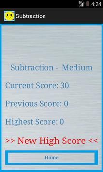Subtraction screenshot 4