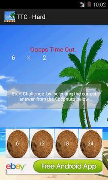 Times Tables NonStop Challenge apk screenshot