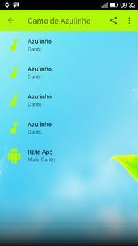 Canto de Passaro Azulinho screenshot 1