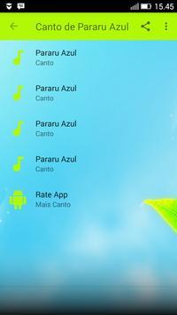 Canto de Pararu Azul screenshot 1