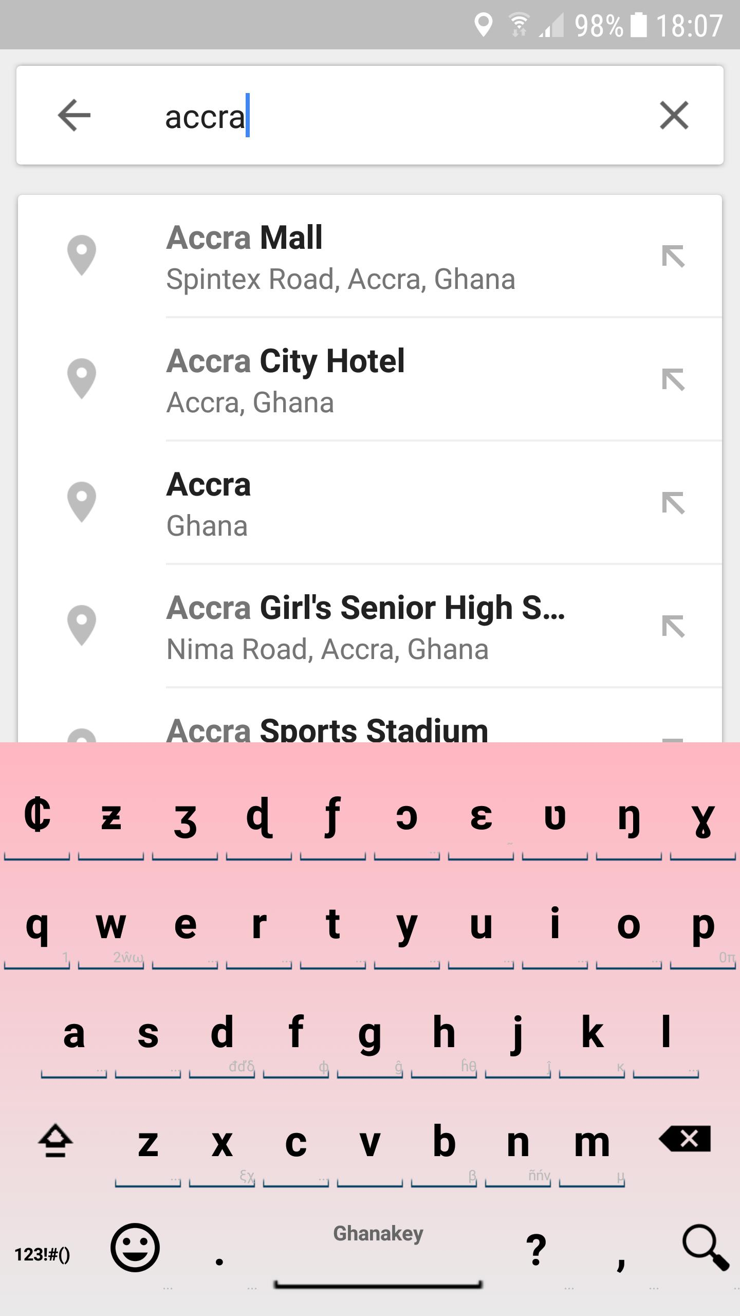 GhanaKey - Keyboard for Ghana for Android - APK Download