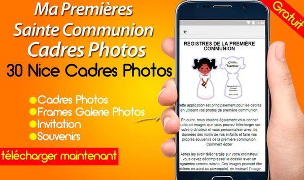 Ma Premières Sainte Communion Cadres Photos screenshot 3