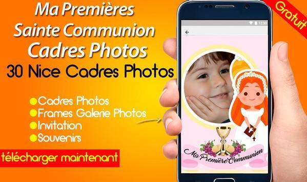 Ma Premières Sainte Communion Cadres Photos screenshot 1