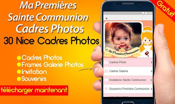 Ma Premières Sainte Communion Cadres Photos screenshot 4