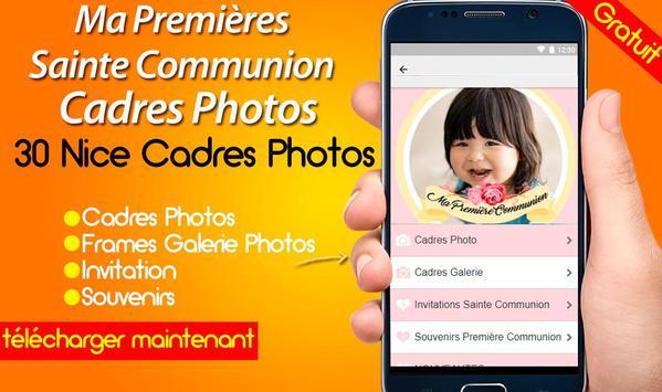 Ma Premières Sainte Communion Cadres Photos screenshot 5
