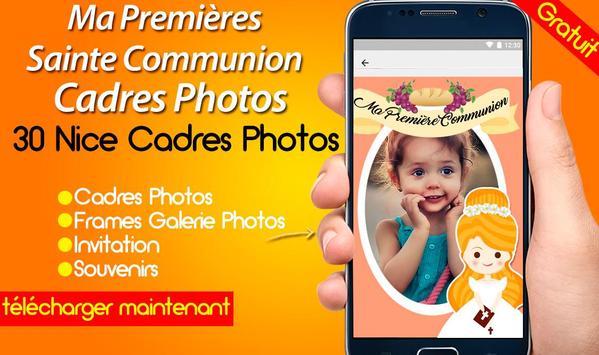 Ma Premières Sainte Communion Cadres Photos screenshot 6