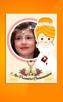 Ma Premières Sainte Communion Cadres Photos screenshot 8