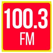 Radio 100.3 fm radio station 100.3 radio station icon