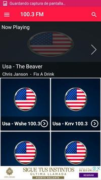 Radio 100.3 fm radio station 100.3 radio station screenshot 1