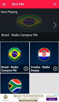 Radio 90.6 Fm radio fm 90.6 Radio Station for Free screenshot 2