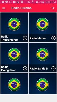 Radio Curitiba Radio Brasil Fm Radio De Curitiba poster