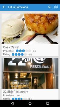 Barcelona Travel Guide apk screenshot