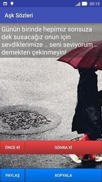 Aşk Sözleri apk screenshot