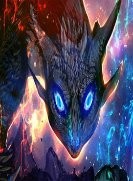 Dragon Fire Wallpaper apk screenshot