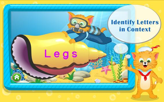 Learn ABC Letters with Captain Cat screenshot 3