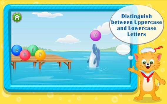 Learn ABC Letters with Captain Cat screenshot 7
