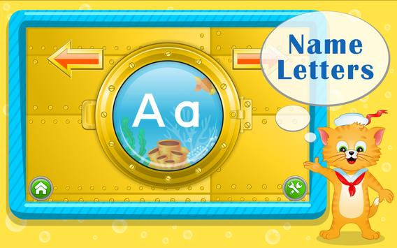 Learn ABC Letters with Captain Cat screenshot 9