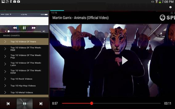 Video and Music Player apk screenshot