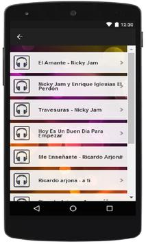 Nicky Jam Musica Da Letra apk screenshot