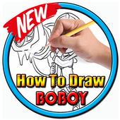How to draw boboboy icon