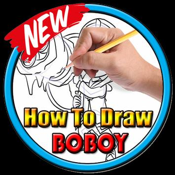 How to draw boboboy poster