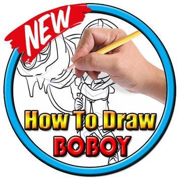 How to draw boboboy apk screenshot