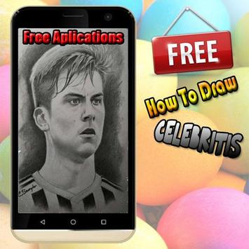 How to draw celebrity apk screenshot