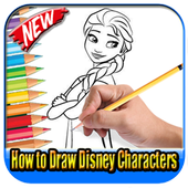 How To Draw Disney Characters icon