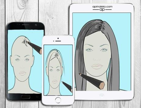 Learn to draw hair apk screenshot