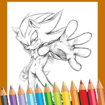 How to draw sonic apk screenshot