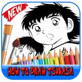 How to draw tsubasa icon