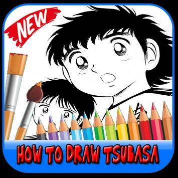 How to draw tsubasa poster