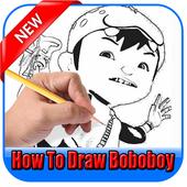 Learn to draw boboboy icon
