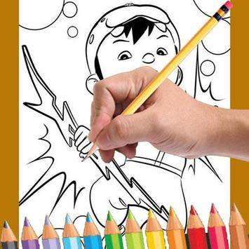 Learn to draw boboboy poster
