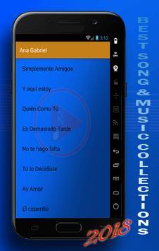 ANA GABRIEL : SIPLEMENTE AMIGOS BEST SONG screenshot 2