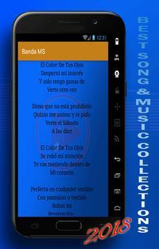 BANDA MS : EL COLOR DE TUS OJOS TOP SONGS screenshot 3