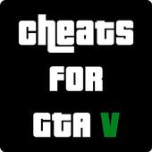 Cheat codes for GTA V icon