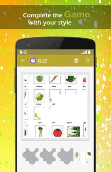 Fruits and Vegetables Learning apk screenshot
