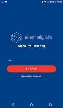 AlphaPro Travel Mobile Ticketing poster