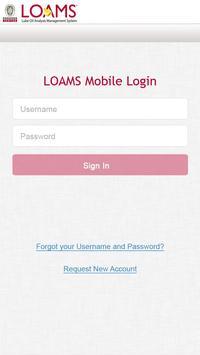 LOAMS Mobile poster